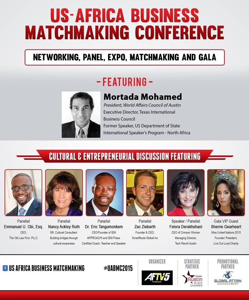 U.S.-Africa Cultural Expo and Business Matchmaking Conference